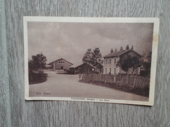 VALDAHON LA GARE 1935 PETITE ANIMATION EDITEUR VADAM - Otros Municipios