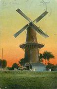 A-17.6936 :  MOULIN A VENT  WATERINGEN  HOLLANDE PAYS-BAS - Windmills