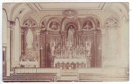 Guernesey - Carte Photo De La Chapelle Du Noviciat De Vimiéra - Guernsey
