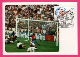 Carte Maximum - Football - Copa Mundial De Futbol Espana 82 - Madrid - 1982 - R.F.A. Italia - 1982 – Espagne