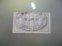 MARCOFILIA - DUPLO OVAL - FIGUEIRA DA FOZ - Postmark Collection