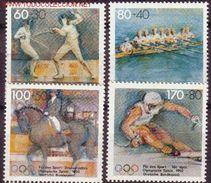 ALEMANIA 1992 - GERMANY - DEUTCHSLAND - OLYMPICS BARCELONA 92 SET MNH - Verano 1992: Barcelona