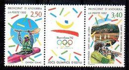 ANDORRA FRANCESA 1992 - FRENCH ANDORRA - OLYMPICS DE BARCELONA '92 - YVERT Nº 419A (418-419**) - Verano 1992: Barcelona