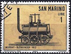 San Marino 1964 - Steam Locomotive Murray-Blenkinsop ( Mi 814 - YT 627 ) - Saint-Marin