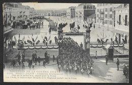 MONTLUCON Caserne Richemont Départ Revue 14 Juillet 1914 (Chaumont) Allier (03) - Montlucon