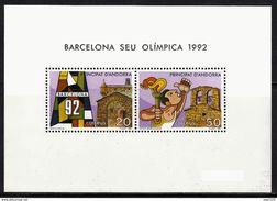 ANDORRA ESPAÑOLA 1987 - NOMINACION DE BARCELONA COMO SEDE OLIMPICA 1992 - EDIFIL Nº 200 - Verano 1992: Barcelona