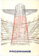MENU  PAQUEBOT FRANCE  PROGRAMME MAI 1974  -    BELLE ILLUSTRATION - Menu