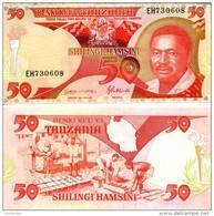 TANZANIA 50 Shilings ND (1992) P- 19 *UNC* - Tanzania