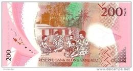 VANUATU 200 VATU POLYMER 2014 P- New **UNC** - Vanuatu