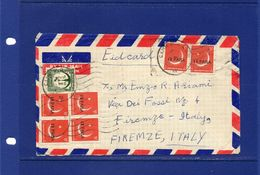 POSTAL HISTORY- Pakistan-date Non Readible - Camp P.O.L261 Cancel , Cover To  Italy - Pakistan