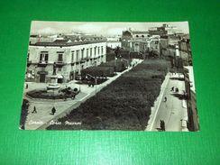 Cartolina Corato - Corso Mazzini 1962 - Bari