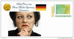Spain 2015 - Nobel Prize 2009 - Literature - Herta Müller/Germany Special Cover - Nobelpreisträger
