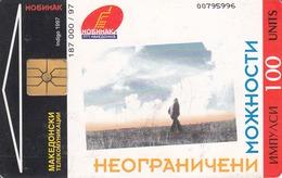 MACEDONIA - Mobimak / Instructions,04/97 ,100 U, Used - Macedonia