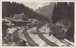 Brünig-Bahnhof Mit Dampfzug - Fotokarte        (P-59-60716) - BE Berne