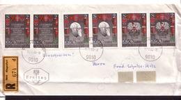 388o * ÖSTERREICH * EINSCHREIBEBRIEF MIT 2 SÄTZEN 1273/75 50 JAHRE REPUBLIK ÖSTERREICH **!! - 1945-.... 2nd Republic