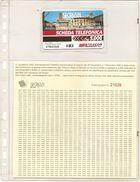 2-SCHEDA TELEFONICA SECRIAM MANIFESTAZIONE FIL-NUM AREZZO 1996-VEDI DESCRIZIONE COMPLETA - Italia