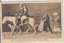 D65 - LOURDES-MUSEE PYRENEEN DU CHATEAU-FORT DE LOURDES-FIGURINES DE GABARD: PAYSANS DES ENVIRONS DE BAGNERES DE BIGORRE - Lourdes