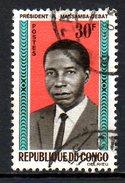 CONGO. N°174 Oblitéré De 1965-6. Massamba-Debat. - Congo - Brazzaville