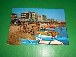 Cartolina Viserba - Spiaggia E Alberghi 1979 - Rimini
