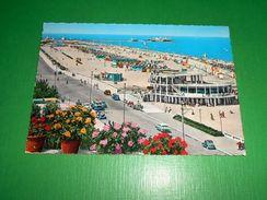 Cartolina Riviera Di Rimini - Bagni Nettuno E Spiaggia 1961 - Rimini