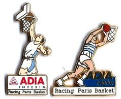 AB19 - ADIA INTERIM - RACING PARIS BASKET - Verso : ARTHUS BERTRAND - Arthus Bertrand