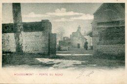 BELGIUM - Hougoumont - Porte Du Nord - Undivided Rear - Waterloo