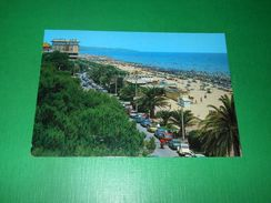 Cartolina Roseto Degli Abruzzi ( Teramo ) - Lungomare E Spiaggia 1980 Ca - Teramo