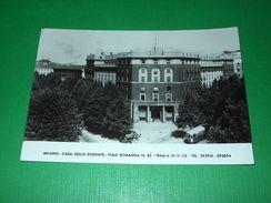 Cartolina Milano - Casa Dello Studente - Viale Romagna 1954 - Milano (Milan)