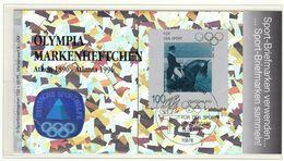 Germany / Olympic Games Atlanta 1996 / Booklet / Equestrian - Ete 1996: Atlanta