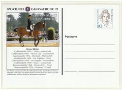 Germany / Olympic Games Atlanta 1996 / Postal Stationery / Equestrian - Sommer 1996: Atlanta