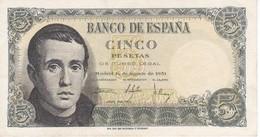 BILLETE DE ESPAÑA DE 5 PTAS DEL 16/08/1951 SERIE Z EN CALIDAD EBC (XF) (BANKNOTE) - [ 3] 1936-1975 : Régimen De Franco