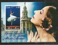 Ballet National De Cuba (danseuse Et Chorégraphe Alicia Alonso), Bloc-feuillet Neuf ** Année 2016 - Tanz
