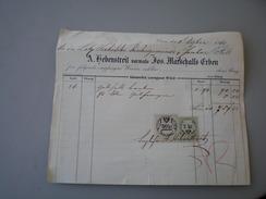 Wien 1860 A Hebenstreit Vormals Marschalls Erben - Autriche