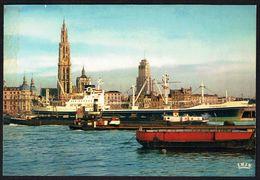 ANTWERPEN / ANVERS  - Haven - Port - Circulé Ss Enveloppe - Circulated U. Cover - Gelaufen U. Umschlag. - Antwerpen