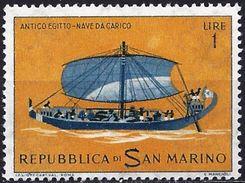 San Marino 1963 - Egyptian Galley ( Mi 750 - YT 573 ) MNH** - Saint-Marin