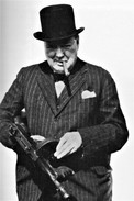 Militaria WW2 - Winston Churchill Sur Le Pied De Guerre - 1939-45
