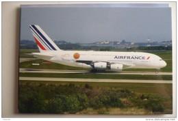 AIR FRANCE   A 380 861   F HPJE        COLLECTION VILAIN N° 838 - 1946-....: Moderne