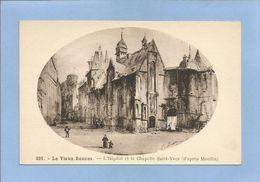 Le Vieux Rennes (35) L'Hôpital Et La Chapelle Saint-Yves (d'après Moullin) 2 Scans - Rennes