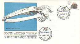 RSA 1989 Enveloppe South African Museum Mint # 1545 - Museums