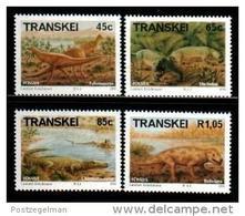 TRANSKEI, 1993,  MNH Stamp(s), Fossils   Nr(s)  303-306 - Transkei
