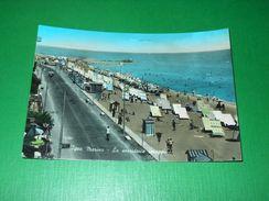 Cartolina Igea Marina - La Sorridente Spiaggia 1957 - Rimini