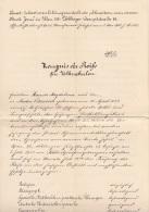 ZEUGNIS Der Reife Für Volksschulen Ausgestellt 1914, 1 Krone Stempelmarke, A3 Format, Größe 34 X 21 Cm, Dok.gefaltet - Diplome Und Schulzeugnisse