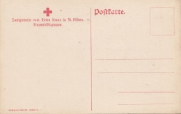 ROTE KREUZ Karte Der St.Pöltner Frauenhilfsgruppe - Rotes Kreuz