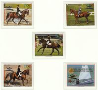 Paraguay / Olympic Games Atlanta 1996 / Equestrian, Sailing - Ete 1996: Atlanta