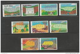 SOUTH AFRICA, 1998, Mint Never Hinged Stamp(s) , Frama Labels Provinces, SA1139-1147 # 6743 - Zuid-Afrika (1961-...)