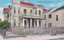 Louisiana New Orleans Ornamental Iron Corn Design Fence 915 Roya