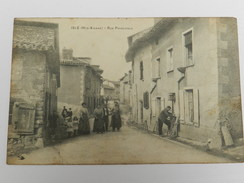 Isle (Hte Vienne) - Rue Principale - France
