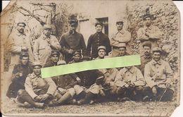 Secteur Lihons Somme 52eme RI Capotes Poiret Pantalons Velours Hiver 1914/1915 Recrut Montelimar 1wk 1914/1918 Ww1 - Guerra, Militari