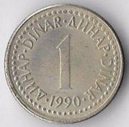Yugoslavia 1990 1 Dinar [C509/2D] - Yugoslavia
