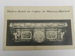 Mons-en-Baroeul - Maître-Autel De L'Eglise - France